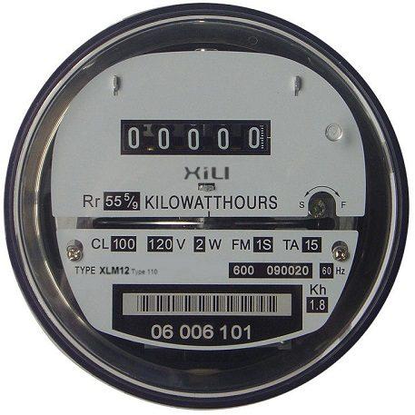 Relogio medidor de energia