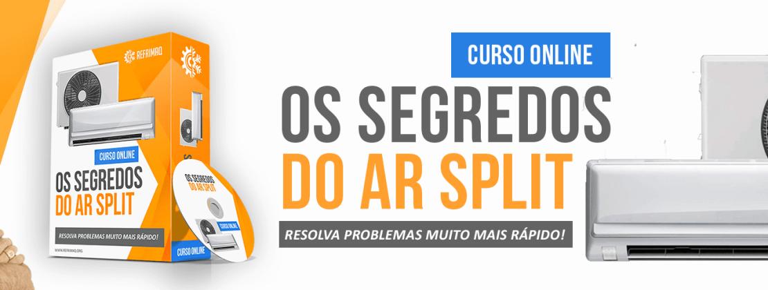 ➥ OsSegredos do Ar Split – é umCurso Completo de Instalação e Manutenção de Ar Condicionado SPLIT Oferecido pela Empresa Refrimaq.