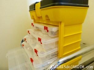 Acessórios para Jardinagem - Caixa Organizadora