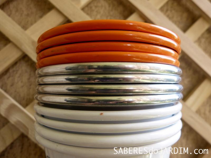 Vasos de Metal Coloridos