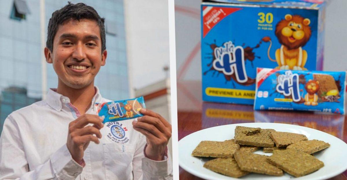 Estudante Peruano cria cookie que elimina anemia em um mês