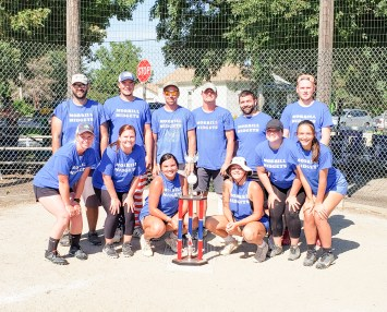 A softball tournament was held as part of Morrill Days on Saturday, August 14. Winners were as follows: Morrill Midgets, first place; Boldra Farms, second place; Chooch Turtles, third place; and Bomb Squad, fourth place.