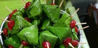 Sweet paan makes your health green