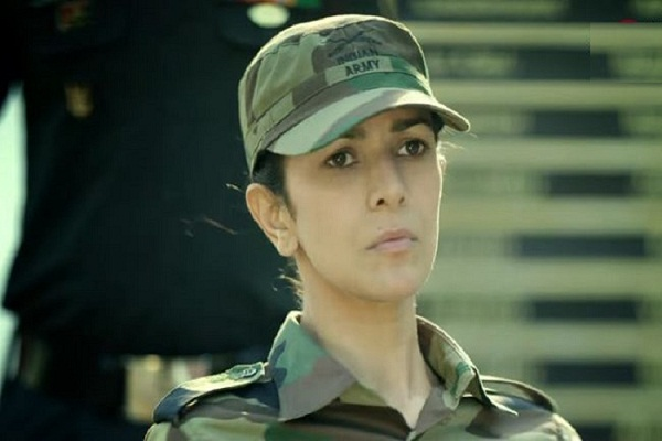 Nimrat Kaur was impressed with the father's military uniform
