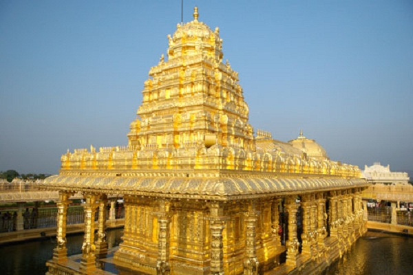 This temple of Tamil Nadu is made of gold