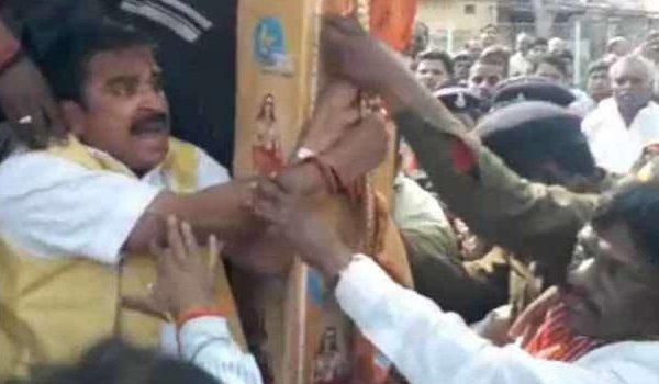 BJP legislator assaulted during Ekatm Yatra in Madhya Pradesh