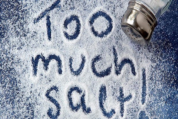 These losses occur with more salt intake