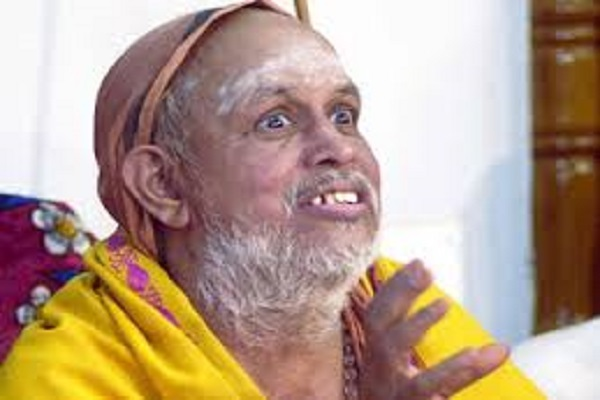 Acharya Shankaracharya passed away