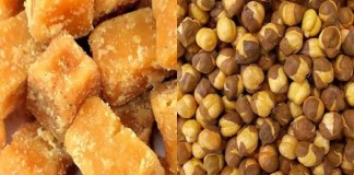 Do you know the benefits of eating jaggery with roasted gram?