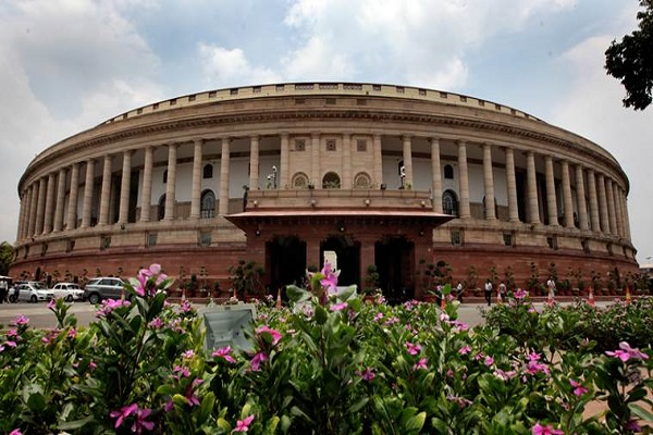 Proceedings of the Lok Sabha adjourned for the day