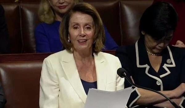 Nancy Pelosi stage eight-hour speech to push for vote for dreamers