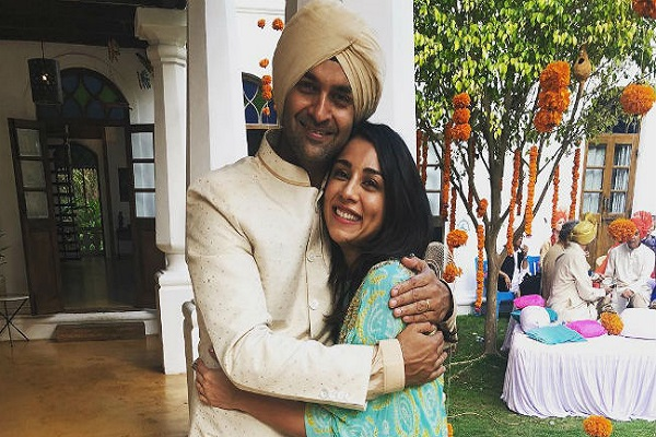 Two years after the daughter's birth, this actor married Guptup in Goa