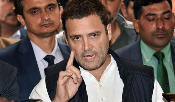 PM should answer the nation in Parliament, not question opposition : Rahul Gandhi