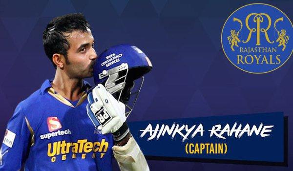 Ajinkya Rahane Rajasthan Royals captain