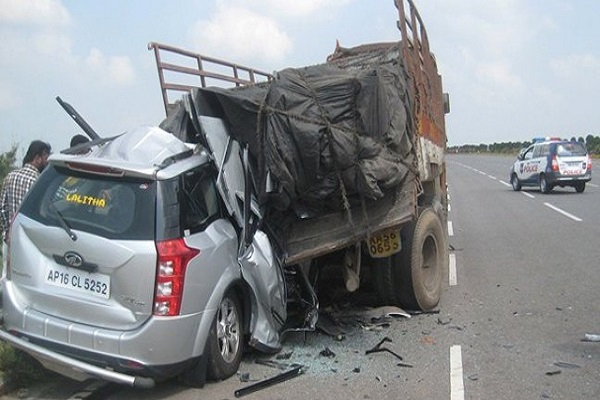 Hyderabad Two killed in road accident in Telangana