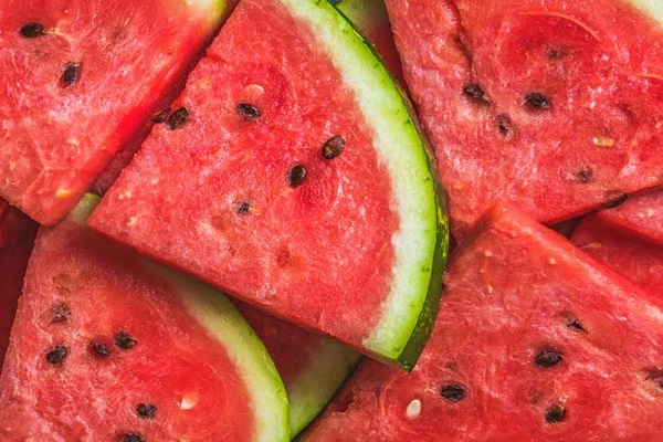 Watermelon contains very rich amounts of minerals antioxidants vitamin B C D