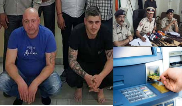 Gang of foreigners involved in cloning ATM cards busted by jaipur police in Rajasthan