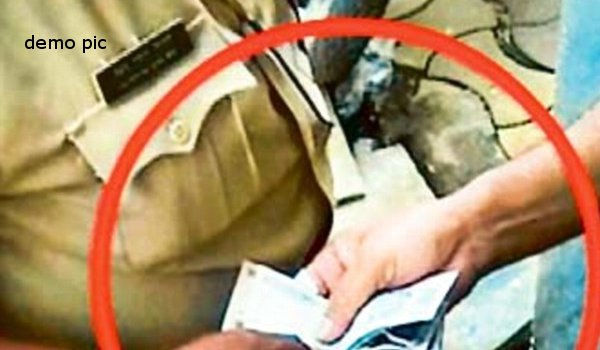 Bharatpur: ACB arrests SI for taking bribe of Rs 1 lakh