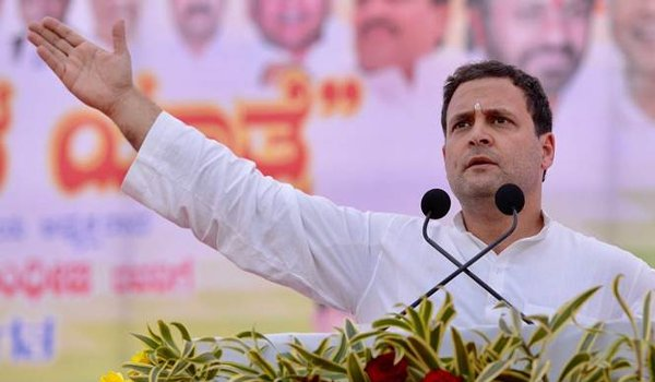 Rahul promises uniform GST if UPA wins polls