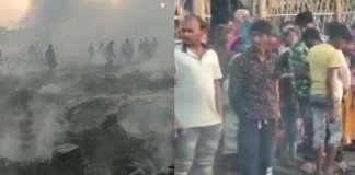 major fire breaks out at Ashiana slum in Meerut