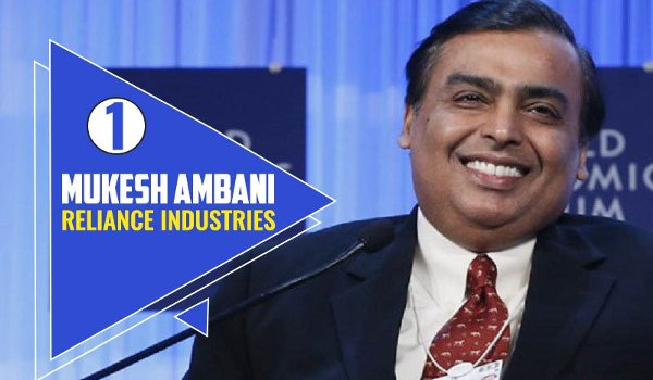 Mukesh Ambani is India's Richest on Forbes List