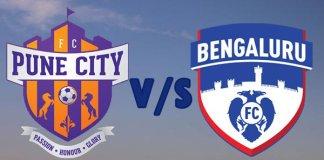 ISL 2018 : FC Pune City vs Bengaluru FC