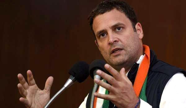 Rahul Gandhi criticises PM Modi for 'misusing' app NaMo