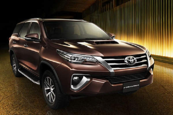 Toyota launches the Diamond Edition of the Fortune SUV in Latin America