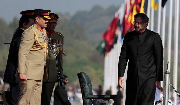 Afghanistan accuses Pakistan of air strikes ahead of leaders' talks