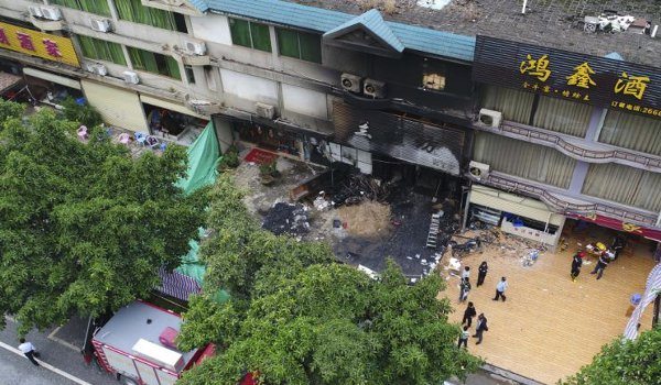 Police arrest suspect in China arson attack that killed 18