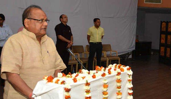 rajasthan health minister Kalicharan Saraf