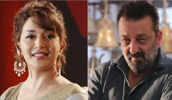 Sanjay Dutt and Madhuri Dixit together kalank after 25 years