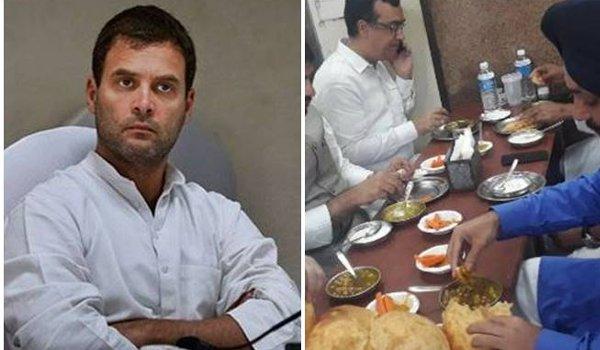 Congress protest: BJP mocks Rahul Gandhi's hunger strike