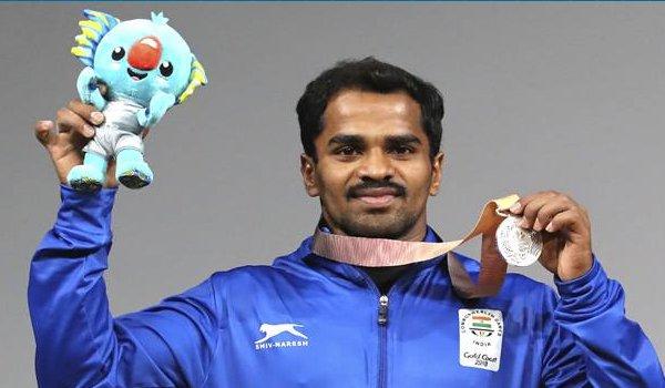 CWG 2018 :  weightlifter p gururaja wins silver medal at gold coast