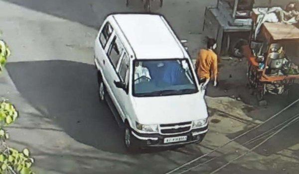 jaipur ACB additional Superintendent's car theft