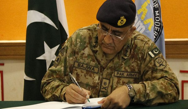 Pakistan Army chief confirms death sentence for 11 terrorists