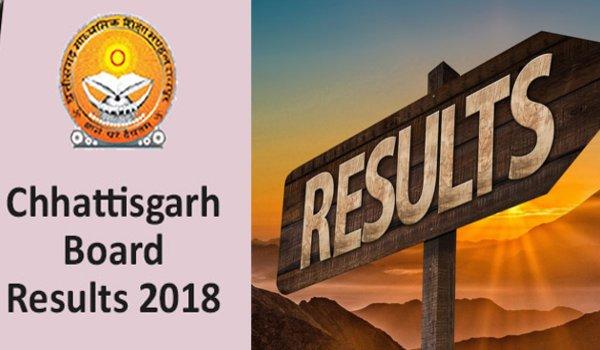 Chhattisgarh board results : CGBSE Class 10th, 12th Exam Results 2018 declared