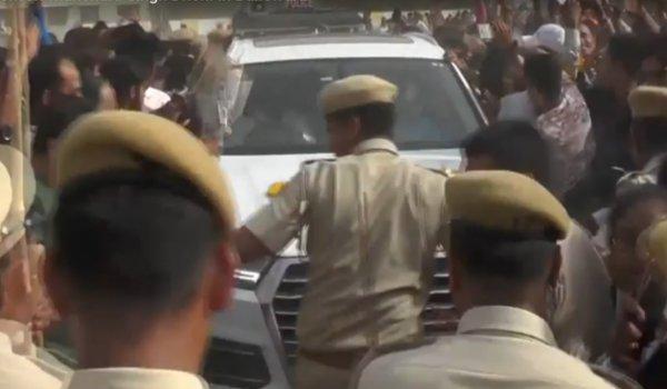 Indian Cricketer Mahendra Singh Dhoni In Banswara