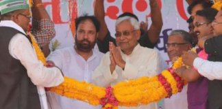 Bihar Chief Minister Nitish Kumar dry law pitch in Rajasthan