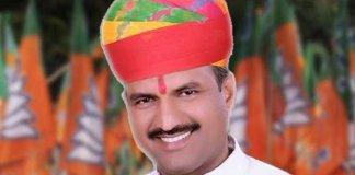 chittorgarh MP Chandra Prakash Joshi