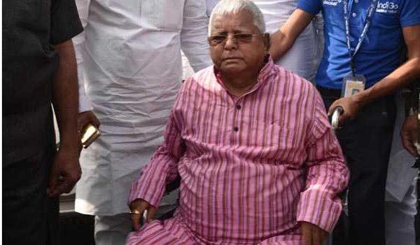Lalu Yadav returns to Ranchi jail on completion of parole