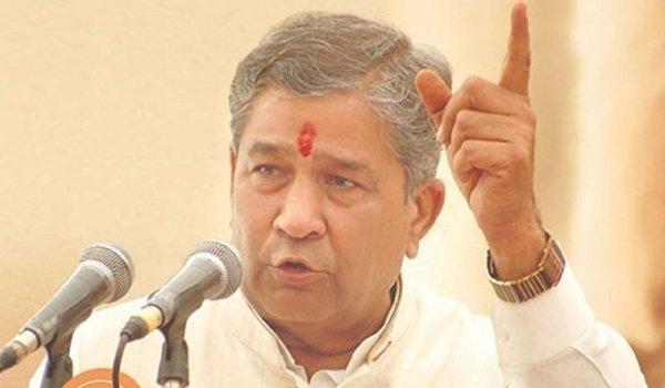 BJP MLA Ghanshyam Tiwari