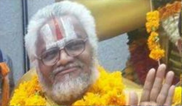 rape accused Falahari Baba hospitalized