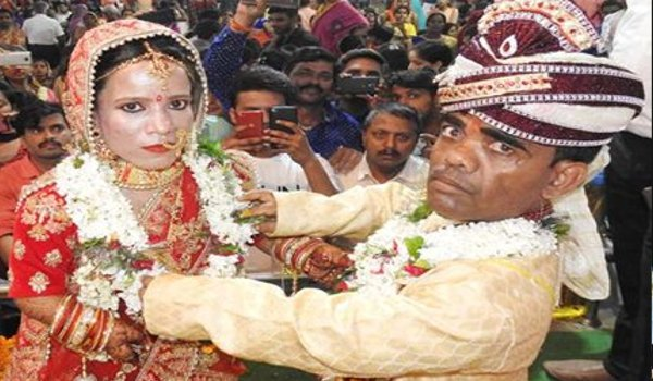 36 inches groom finds  34 inch bride in gorakhpur