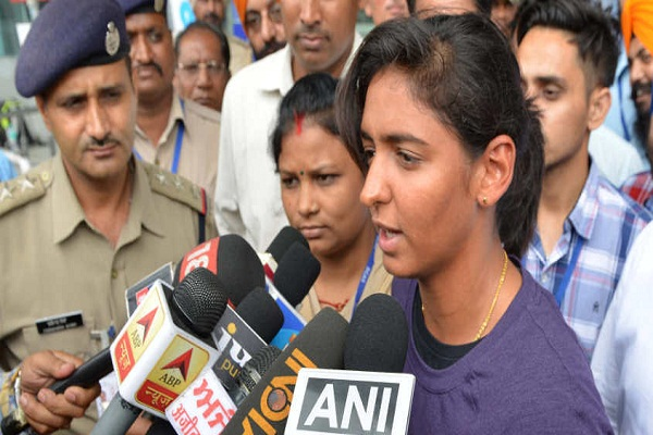 Harmanpreet Kaur, captain of women's cricket team removed from DSP post