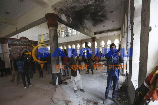 Suicide attack in Afghanistan mosque, 39 killed, 80 wounded