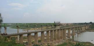 bridge built on Chambal canal in Morena