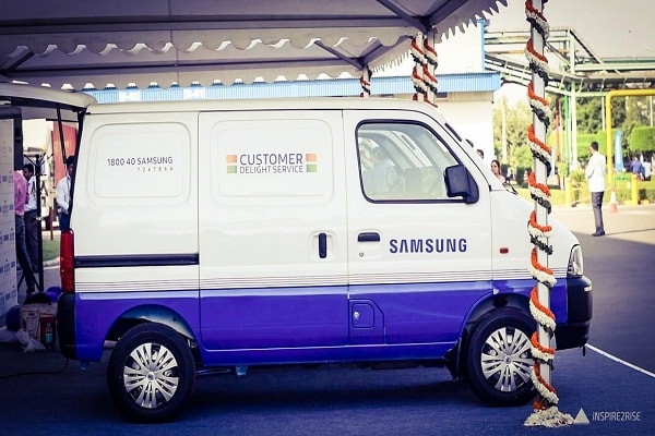 Samsung support to Flood Relief in Kerala
