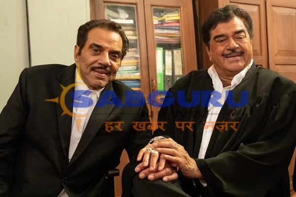 Dharmendra and Shatrughan Sinha pair again
