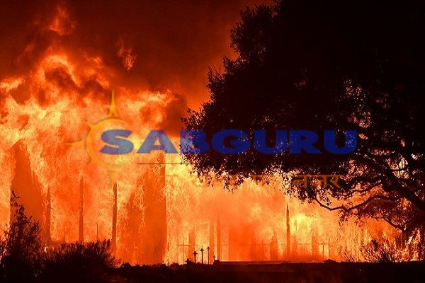 Many people missing in California due to fire